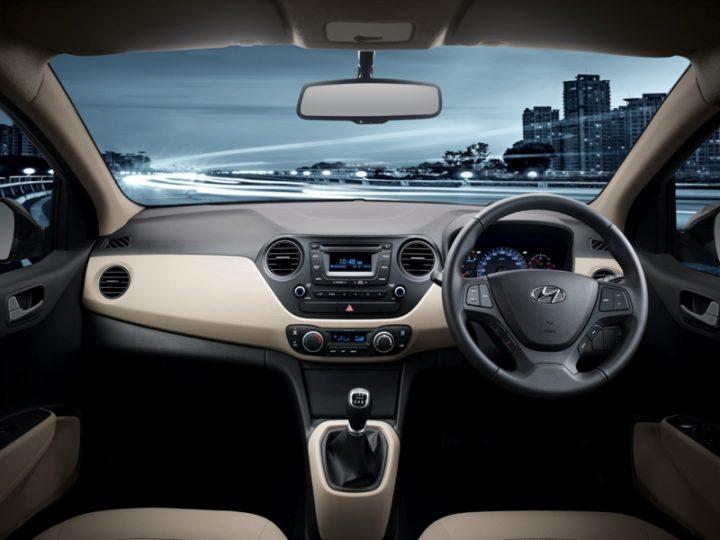 2014 Hyundai Xcent Interior Dashboard