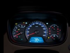 2014 Hyundai Xcent Interior Instrument Cluster