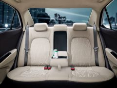 2014 Hyundai Xcent Interior Rear Seats Arm-Rest Down
