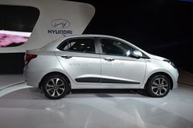 2014 Hyundai Xcent Right Side Profile