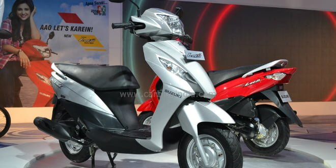 Suzuki Let's 110cc Scooter Launched