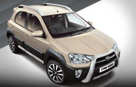 2014 Toyota Etios Cross Harmony Beige Paint