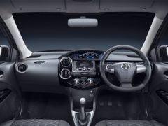 2014 Toyota Etios Cross Interior Front Cabin