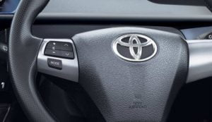 2014 Toyota Etios Cross Interior Steering Wheel