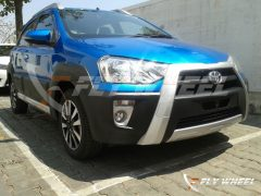 2014 Toyota Etios Cross Spy Shot Front Right Quarter