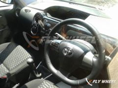 2014 Toyota Etios Cross Spy Shot Interior Front Cabin Driver Side View