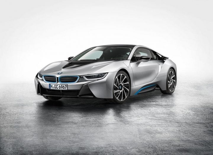Hybrid Cars in India - BMW i8