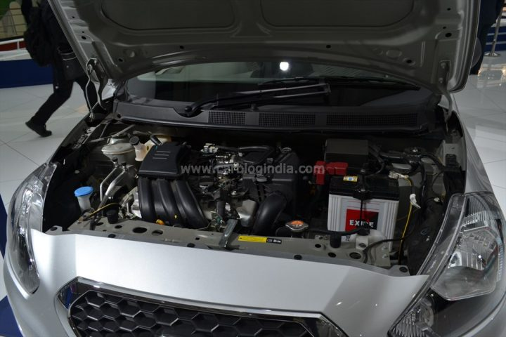2014 Datsun Go Engine Bay