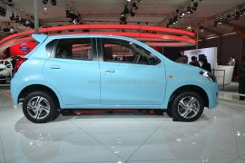 2014 Datsun Go Left Side Profile