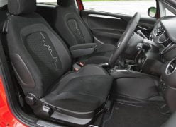 2012 Fiat Punto Interior Front Cabin Driver Side View