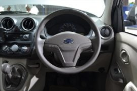 2014 Datsun Go Interior Steering Wheel