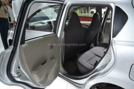 2014 Datsun Go Rear Passenger Side Door Open