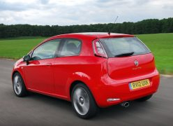 2012 Fiat Punto Rear Left Qaurter