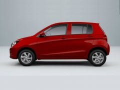 2014 Maruti Suzuki Celerio Left Side Profile