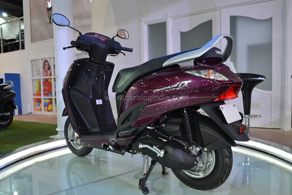 Yamaha Cygnus Alpha Price, Specifications, Images, Mileage