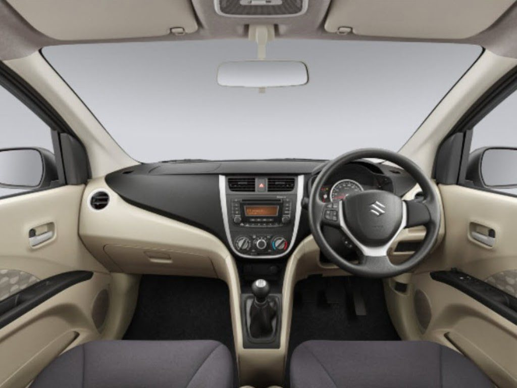 2014 maruti suzuki celerio interior dashboard manual carblogindia. Black Bedroom Furniture Sets. Home Design Ideas