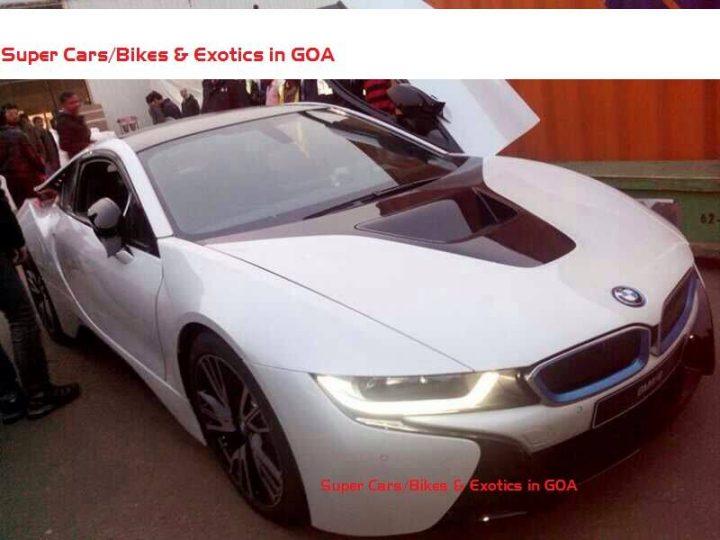 BMW i8 Hybrid Sports Car Spy Shot