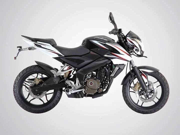 Bajaj Pulsar 200 NS Black and White