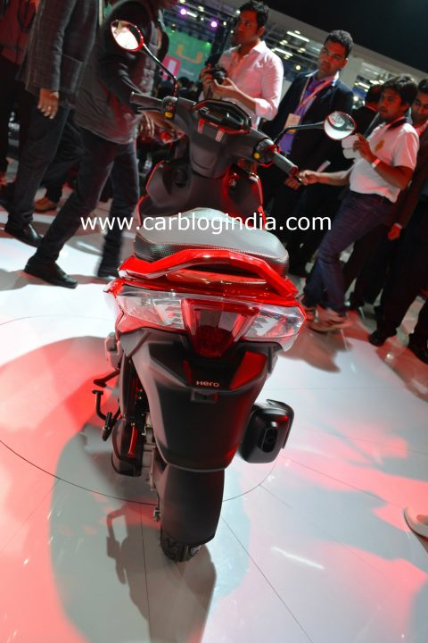 Hero Dare 125 cc images rear