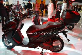 Hero ZIR at Delhi Auto Expo