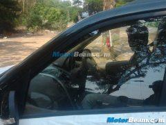 Mahindra XUV500 Automatic Spy Shot Interior