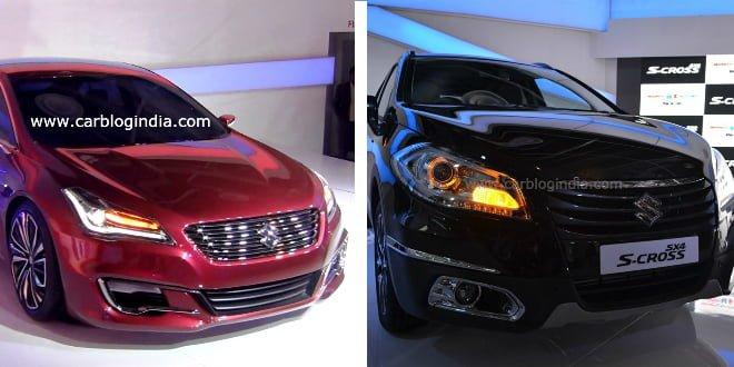 Auto Expo 2014: Maruti Suzuki Unveils Concept Ciaz and SX4 Crossover