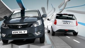 Tata Bolt Front and Rear