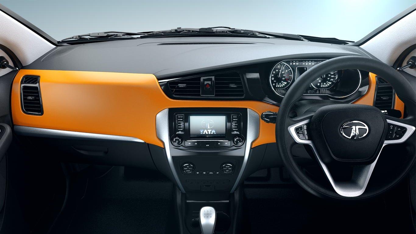 Tata Bolt Interior Dashboard CarBlogIndia