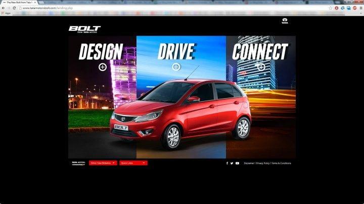 Tata Bolt Website