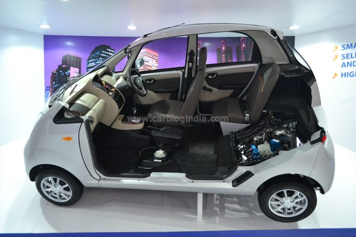 Tata Nano Automatic AMT Version (1)
