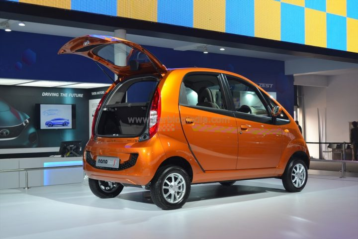 Tata Nano Twist With Openable boot (2)