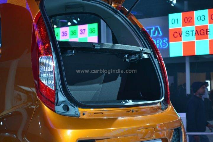 Tata Nano Twist With Openable boot (7)