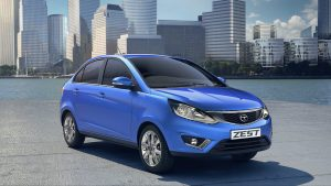 Tata Zest Front Right Quarter