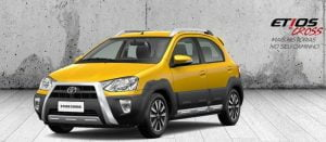 Toyota Etios Cross Front Left Quarter