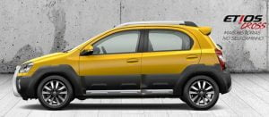 Toyota Etios Cross LeftSide Profile