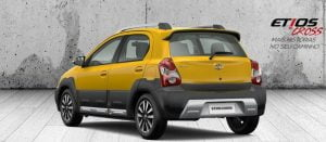Toyota Etios Cross Rear Left Quarter