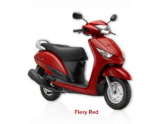 Yamaha Alpha Fiery Red Paint