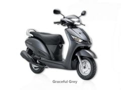 Yamaha Alpha Graceful Grey Paint