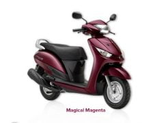 Yamaha Alpha Magical Magenta Paint