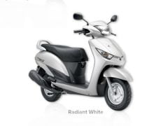Yamaha Alpha Radiant White Paint
