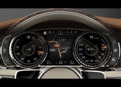 2012 Bentley EXP 9 F Concept Interior Instrument Cluster