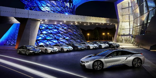 First Units Of The BMW i8 Delivered In Germany