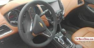 2014 Chevrolet Cruze Facelift Interior