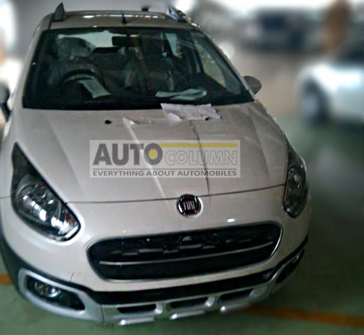 2014 Fiat Avventura Production Variant Spy Shot Front Right