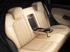 2014 Fiat Linea Interior Rear Seat Armrest Down
