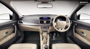 2014 Renault Fluence Facelift Interior Dashboard