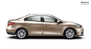 2014 Renault Fluence Facelift Right Side Profile