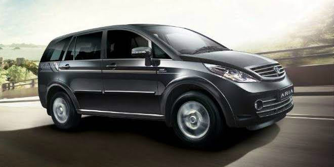 2014 Tata Aria Launched; Gets More Power, Features