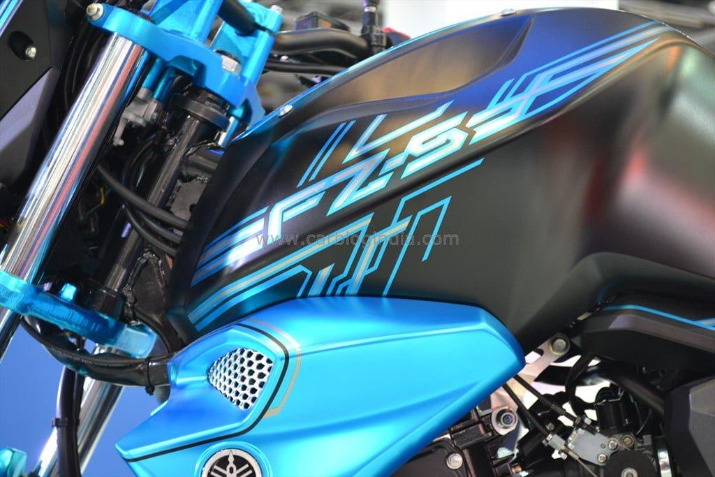 Yamaha fz s facelift spied again