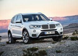 2015 BMW X3 Front Right Quarter
